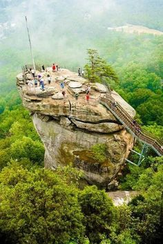 Chimney Rock, North Carolina.