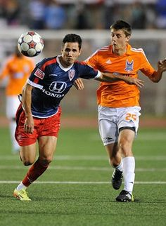 "PEDRO MENDES: Brazilian footballer who currently plays for Indy Eleven in the North American Soccer League. Pedro's twin brother Paulo also plays in the NASL. This speedy, high skilled forward made his way onto the map back in 2007 with the Olympic Development Program where he received invitation to the National Camp, and played for the Regional and State Teams. ""The difference between good and great depends on every bit of energy you have left."" #poweredbybits"