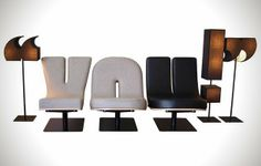 Typographic Furniture Collection - IcreativeD