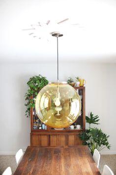 Starburst Ceiling Medallion DIY