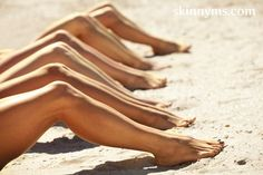 Defined, toned legs are totally doable with this Summer Legs Challenge form Skinny Ms. #workout