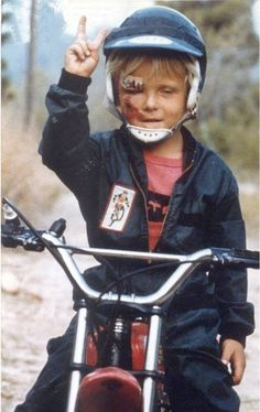 Know what keeps kids off drugs? Dirtbikes.