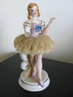 Occupied Japan Dresden Ballerina