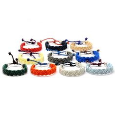 """""""Nothing says summer quite like a Nantucket rope bracelet. Whenever I'm wearing one, I feel like I'm right back at The Cape on family vacay: sand, sun, sea, staying with the help and listening to all their interesting stories while my dad took my brothers fishing… Awesome times."""" - Andy Bernard"""