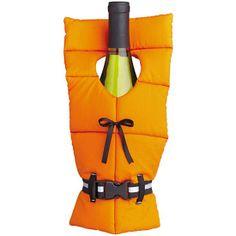 Life Preserver Wine Bottle Cover