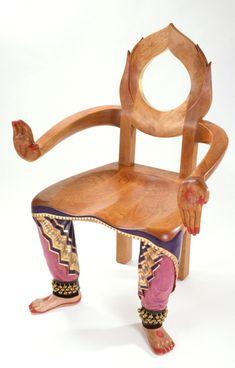 Dancer Chair by Sabiha Mujtaba