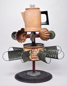 Cool whirligig..cute for a garden..