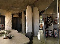 Milan Futuristic Cave House