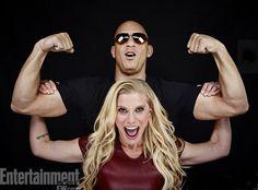 Vin Diesel, Katee Sackhoff, Riddick, sdcc 2013