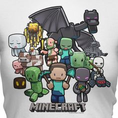 J!NX : Minecraft Party Women's Tee - Clothing Inspired by Video Games & Geek Culture