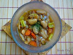 Healthy Recipe: Vegan Lima and Lentil Bean Soup