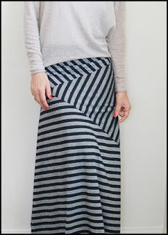 Cute maxi skirt design...