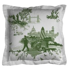 Timorous Beasties Cushions - London Toile
