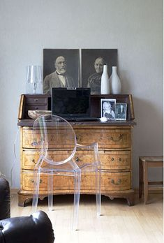 the chair that combines modern and antique