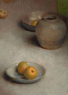 유 Still Life Brushstrokes 유 Nature Morte Paintings - Charles Weed