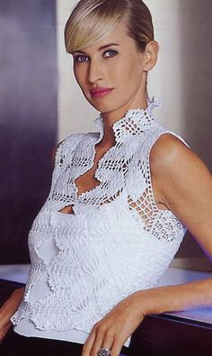 Crochet top, exquisite design, PDF PATTERN, sexy top, crochet pattern, beach top, detailed written instructions in ENGLISH, instant download