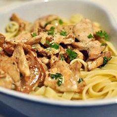 Sautéed Mushroom Pasta
