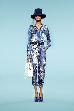 Emilio Pucci Resort 2013 http://www.style.com/fashionshows/complete/2013RST-PUCCI