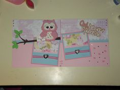 6x6 scrapbook layout I made with @Christine Plaxco bug design patterns