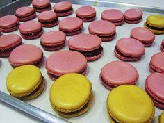 A Sea of Macarons! by Lardon My French, via Flickr