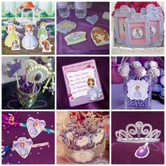 Sofia the First party ideas! See more at CatchMyParty.com.