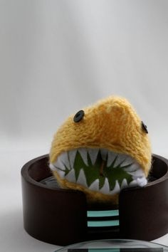 SharkApple Sleeve Cozy by HandaMade on Etsy, $17.00