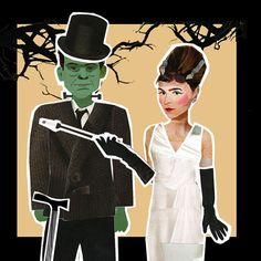 Really into the Bride of Frankenstein right now.