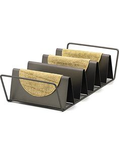 Bake your own taco shells in the oven. Get it here: http://www.bhg.com/shop/chicago-metallic-7x14-in-nonstick-taco-shell-baking-rack-by-chicago-metallic-p4fcf367f82a75e558451fd7e.html