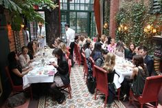 New York restaurants with secret gardens - Article by Nicole Schreiber-Shearer via www.guestofaguest.com   #NYC #Restaurants #Gardens #food #CentralParkHotel #PLHotelNY #NewYork #Dining