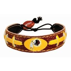 Redskins football bracelet