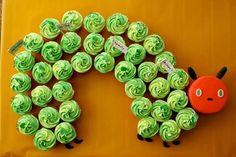 """hungry caterpillar """"cake"""" or cupcakes"""