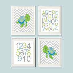 Baby+Boy+Nautical+Turtle+Chevron+Ocean+Sea+by+LovelyFaceDesigns,+$37.00
