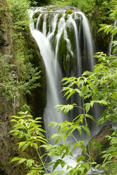 South Dakota - Spearfish Canyon Scenic Byway, Black Hills.  Bridal Veil Falls and Roughlock Falls are must-sees along the route.