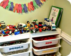 The ultimate lego storage.
