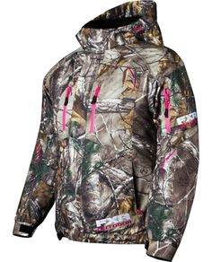 FXR Women's FRESH Jacket - CAMO  - Realtree Xtra