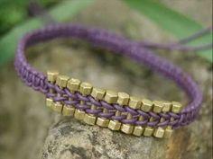 Macrame Bracelet - Tutorial ❥ 4U // hf