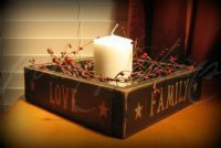 Candle boxes. Canadian Handmade. Love.