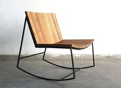 sobu | reclaimed teak rocker
