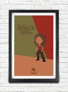 Firefly  Serenity  Zoe Washburne  Gina Torres  17x11 by bensmind, $22.99