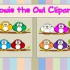 Howie the Owl Clipart Set