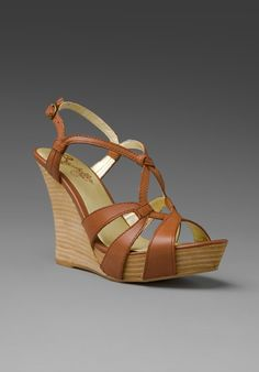 I got a pair of wedges very similar to these today and I love them! perfect color!