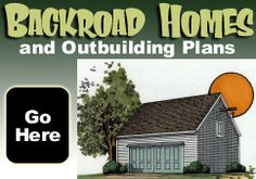 Click to find plans for Cabins, Cottages, Studios and Live-In Garages