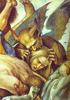 El Infierno (detalle). Por Luca Signorelli, 1499 - 1502. http://iglesiadesatan.com/