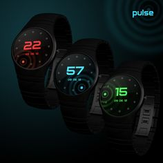 Pulse watch: Concept design sent into our blog by Talgat from Kyrgyzstan.