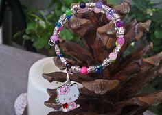 Hello Kitty Bracelet.  Designed by Debe for Debe's Gems.