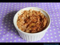 Kolorowa Kuchnia Magdy: Pieczona owsianka z owocami i cynamonem
