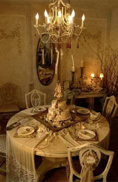 Vintage Bridal Party Table by Julia M. Usher and Elizabeth Maxson