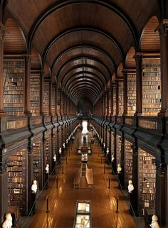 Trinity College Library, Ireland | Incredible Pictures