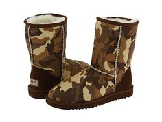 Ugg Classic Short Camo Boot NEED!!