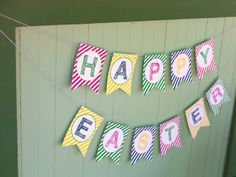 Host the perfect Easter egg hunt!  Free printables & party tips-->  http://hg.tv/w9wx